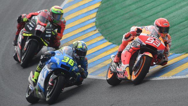 Link live streaming MotoGP Prancis 2021 dari Sirkuit Le Mans bisa disaksikan melalui CNNIndonesia.com di sini.