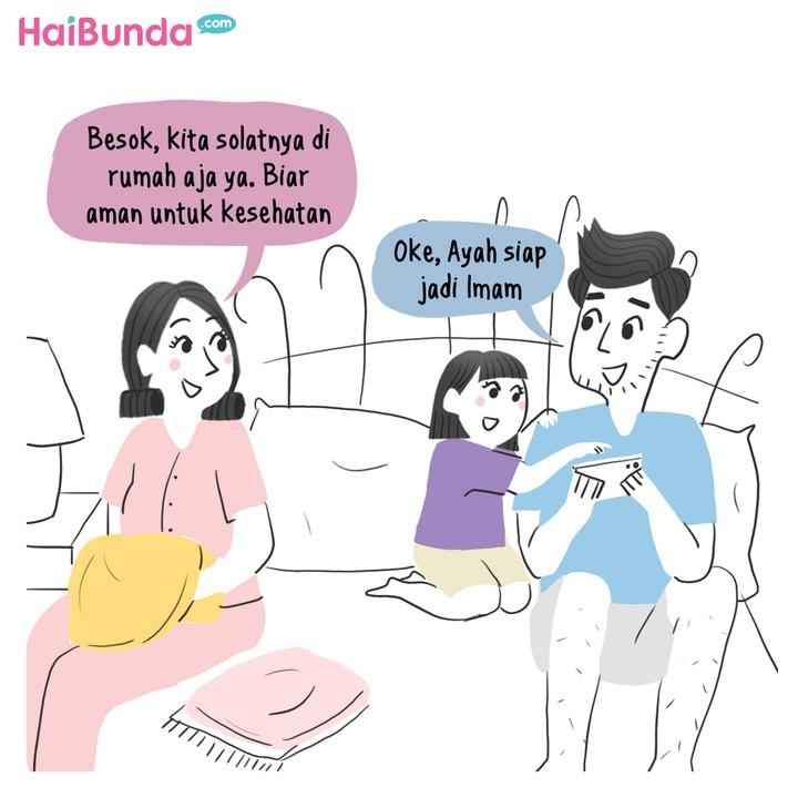 Komik HaiBunda Lebaran 2021
