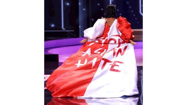 Stop Asian Hate-Myanmar, Pesan Politik di Miss Universe 2021
