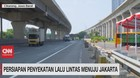 VIDEO: Persiapan Penyekatan Lalu Lintas Menuju Jakarta