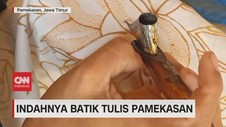 VIDEO: Indahnya Batik Tulis Pamekasan