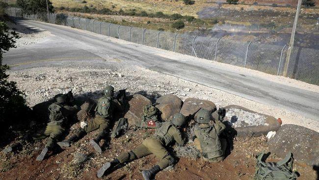 Satu demonstran Libanon tewas setelah tentara Israel menembaki massa pendukung Palestina yang menggelar aksi di perbatasan kedua negara pada Jumat (14/5).