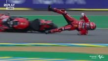 VIDEO: 5 Kecelakaan FP2 MotoGP Prancis