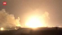VIDEO: Roket dan Ledakan Terus Menghantam Gaza