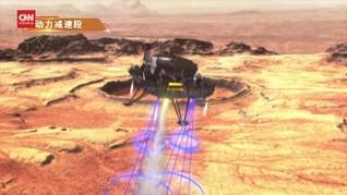 VIDEO: Ilustrasi Kapal Penjelajah China Mendarat di Mars