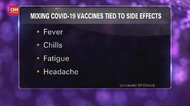 VIDEO: Kenali Efek Samping Mencampur Dua Merek Vaksin Covid