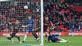 Leicester City berhasil menjadi juara Piala FA usai membungkam Chelsea pada laga final yang digelar di Stadion Wembley, Sabtu (15/5).