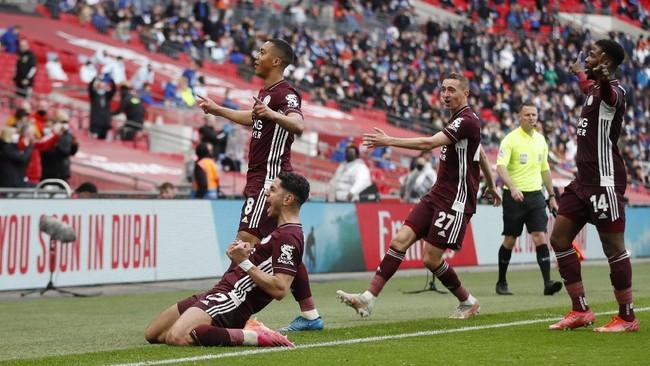7 Fakta Unik Usai Leicester City Juara Piala FA