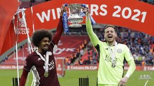 Juara Piala FA, Pemain Leicester Kibarkan Bendera Palestina
