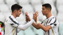 Momen Pertama Ronaldo Senang Ditarik Keluar Lapangan