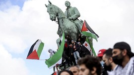 FOTO: Dari Penjuru Dunia untuk Palestina, Kecam Israel