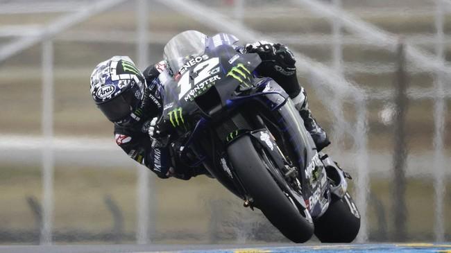 Fabio Quartararo meraih pole ketiga beruntun musim ini setelah menjadi yang tercepat pada kualifikasi MotoGP Prancis 2021.