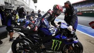 FOTO: Pole MotoGP Prancis Milik Quartararo