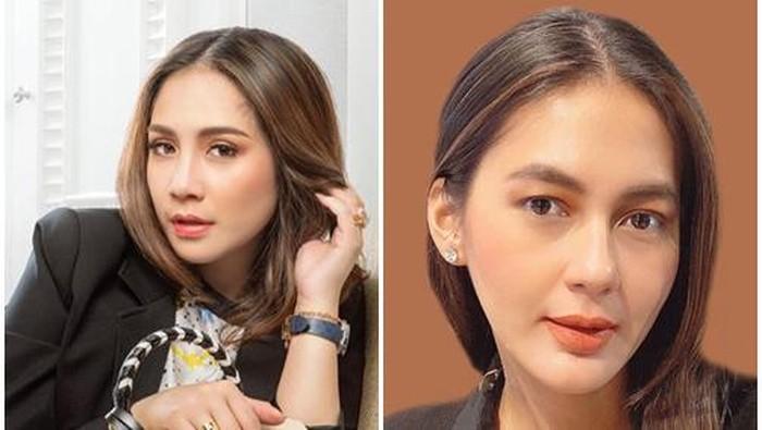Adu Pesona Duo Bumil Cantik Istri 'Sultan', Nagita Slavina & Paula Verhoeven
