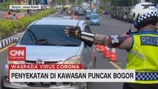 VIDEO: Penyekatan di Kawasan Puncak Bogor