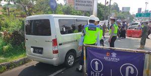 Perhatian! Jalur Puncak Menuju Cianjur Ditutup Sementara