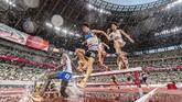 Sederet atlet dari berbagai cabang olahraga memperlihatkan kegigihan mereka demi meraih hasil terbaik di arena masing-masing.