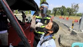 13.675 Dites Acak saat Arus Balik, 72 Orang Reaktif Corona
