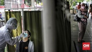 FOTO: Tes Antigen Covid-19 Acak Bagi Penumpang KRL