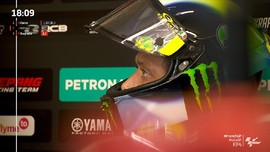 VIDEO: Detik-detik Rossi Rebut Start 9 MotoGP Prancis