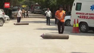 VIDEO: Kendalikan Pasokan, India Bentuk Bank Oksigen