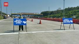 VIDEO: Penyekatan di Kalikangkung, Polisi Sediakan Tes Corona