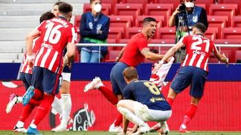 3 Tanda Atletico Madrid Juara Liga Spanyol