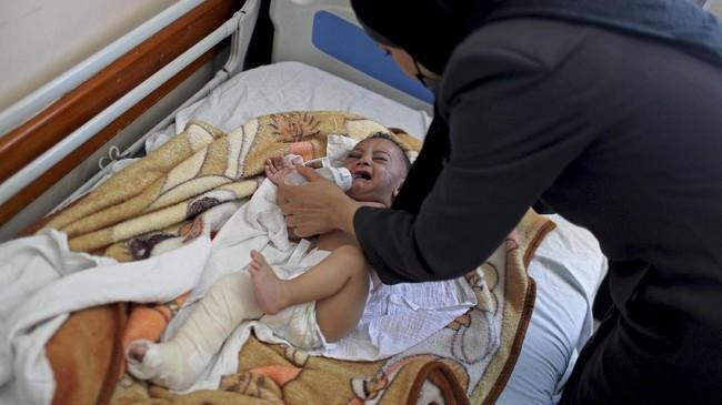 Badan PBB untuk urusan anak-anak (UNICEF) menyatakan tidak ada tempat yang aman untuk anak-anak di Jalur Gaza, Palestina.
