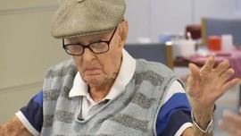 Pria Berusia 111 Tahun Beberkan Rahasia Panjang Umur