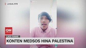 VIDEO: Konten Medsos Hina Palestina