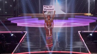Kritik Junta, Miss Myanmar Disebut Tak Bisa 'Pulang Kampung'