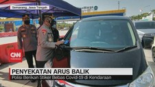 VIDEO: Penyekatan Arus Balik