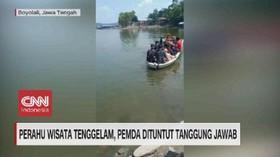 VIDEO: Perahu Wisata Tenggelam, Pemda Dituntut Tanggung Jawab
