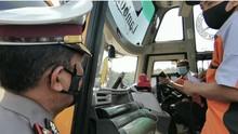 Penumpang Tak Bawa Surat Covid, 3 Bus Dihentikan Petugas