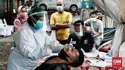 FOTO: Tes Antigen Covid di Penyekatan Arus Balik Depok