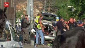 VIDEO: Israel Tembak Pengemudi Palestina yang Tabrak Polisi