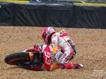 VIDEO: Momen Marquez Kecelakaan saat Pimpin MotoGP Prancis