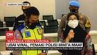 VIDEO: Usai Viral, Pemaki Polisi Minta Maaf