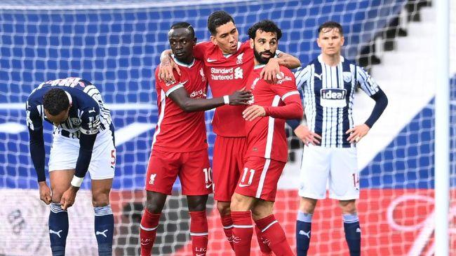 Berikut daftar klasemen Liga Inggris usai Liverpool menang 2-1 atas West Bromwich Albion di Stadion The Hawthorns, Minggu (16/5).