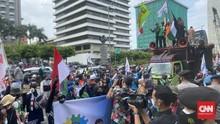 Tiga WNA Ditangkap Saat Aksi Solidaritas Palestina di Jakarta