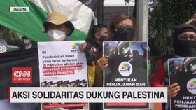 VIDEO: Aksi Solidaritas Dukung Palestina