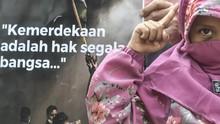FOTO: Aksi Solidaritas untuk Palestina di Kedubes AS