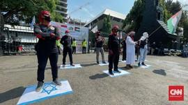 Demo Buruh di Daerah Kecam Serangan Israel ke Palestina