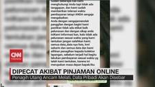 VIDEO: Dipecat Akibat Pinjaman Online