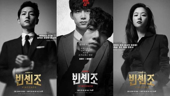 6 Drakor Terbaik dengan Rating Tertinggi Sepanjang Sejarah tvN, Ada Vincenzo!