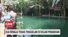 VIDEO: Dua Remaja Tewas Tenggelam di Kolam Pemandian