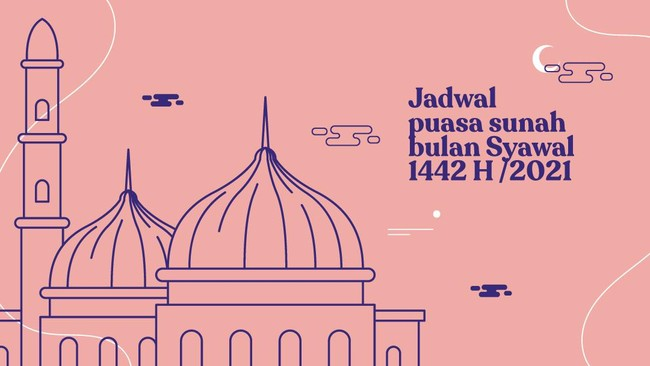 INFOGRAFIS: Jadwal Puasa Sunah Bulan Syawal 1442 H