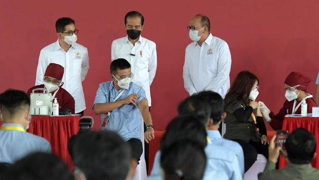 Presiden Jokowi akan memprioritaskan distribusi vaksin gotong royong untuk Batam, setelah mendengar keluhan pasokan Pemkot Batam.