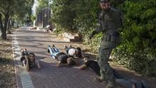 FOTO: Roket Hamas Bobol Iron Dome Porak-porandakan Israel
