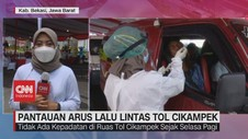 VIDEO: Pantauan Arus Lalu Lintas Tol Cikampek